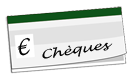 Logo carnet de chèques